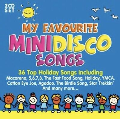 Various Artists : My Favourite Mini Disco Songs CD 2 discs  ***NEW***