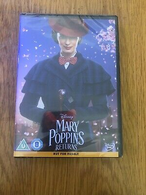 Marry Poppins Returns Dvd Brand New Sealed 2019 Dvd Mary Poppins 2