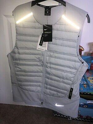 BNWT Nike Aeroloft Gilet Down Fill Blue 2019 Size Medium