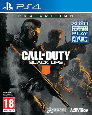 Call of Duty : Black Ops 4 PRO EDITION (PS4) - New & Sealed with FREE postage