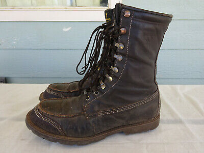 65d30553790 BROWNING GORE-TEX MEN'S Thinsulate work Hunt Brown Leather Boots sz ...