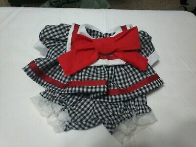 --MY CHILD DOLL-  School- DRESS & PANTIES  HANDMADE--NEW-