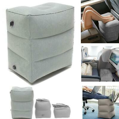 Inflatable Office Travel Footrest Leg Foot Rest Cushion Pillow Pad Kids Bed HQ