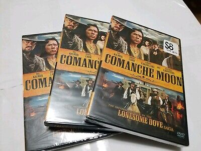 Comanche Moon - The Second Chapter in the Lonesome Dove Saga (DVD, 2008, 2-Disc