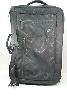 939737b66750b NIKE DEPARTURE ROLLER II Black Carry On Travel Expandable Rolling ...