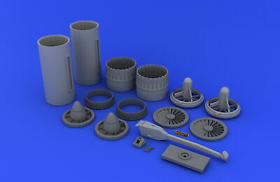 Tam Resin Ba Eduard Accessories 632008-1:32 F-4 Exhaust Nozzles Usaf Early