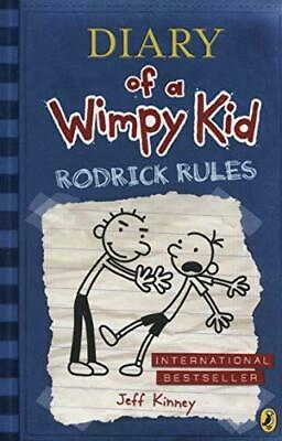 Diary of a Wimpy Kid: Rodrick Rules Diary of a Wimpy Kid Book 2 by Jeff Kinney P