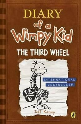 The Third Wheel Diary of a Wimpy Kid book 7 by Jeff Kinney Paperback NEW Book