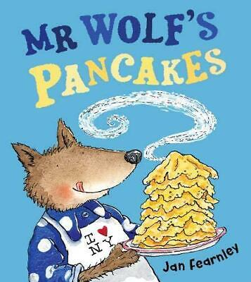 Mr Wolf's Pancakes by Jan Fearnley Paperback NEW Book
