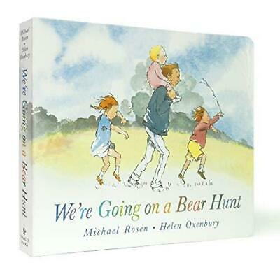 We're Going on a Bear Hunt by Michael Rosen and Helen Oxenbury Board book NEW Bo