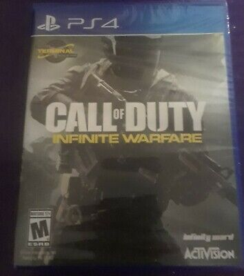 PLAYSTATION 4 PS4 CALL OF DUTY INFINITE WARFARE BRAND NEW & Factory Sealed.