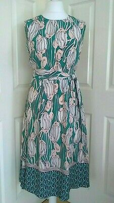 NEW EX M/&S LADIES CORAL PARROT STRAPPY SUMMER BEACH DRESS FACTORY 2NDS UK 8-22