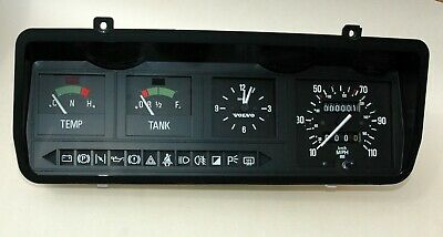 New Smiths instrument panel Volvo 343 Facelift (110 mph)