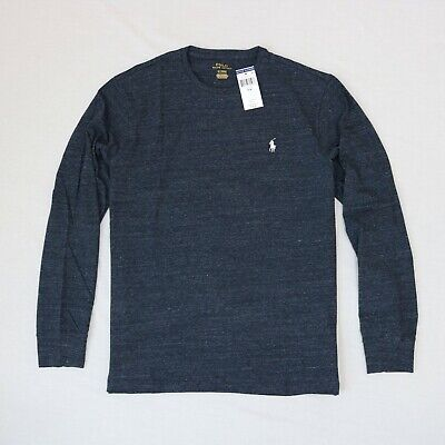 Polo Ralph Lauren Men Crew Neck long sleeve T-shirt size S,M,XL,XXL new with tag