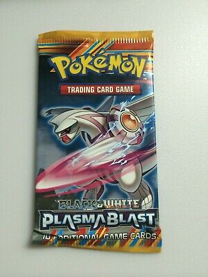 Verzegelde boosters Pokémon Pokémon French XY Plasma Blast Booster Box Lot 36 Packs loose Explosion Plasma