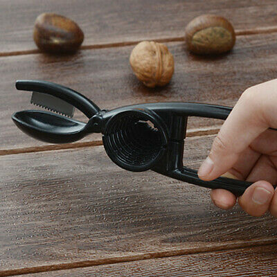 Simple Solid Plier Durable Opener Tool Black Shell Remover For Walnut/Chestnut