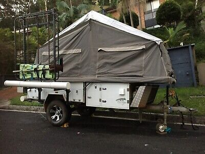 2016 Blue Tongue Overland Xf Off Road  Camper Trailer