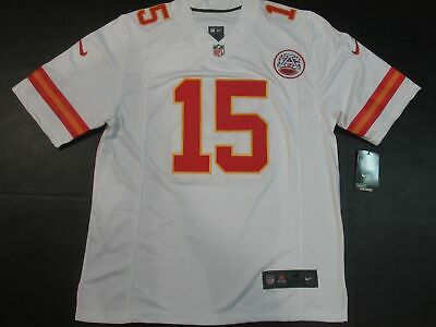 Patrick Mahomes #15 Kansas City Chiefs Player Game Jersey Home White