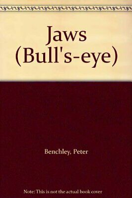 Jaws (Bull's-eye) by Benchley, Peter Paperback Book The Cheap Fast Free Post