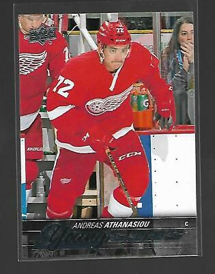 Andreas Anthanasiou 2015-16 Upper Deck Series 2 Young Guns #458 Detroit Red Wing
