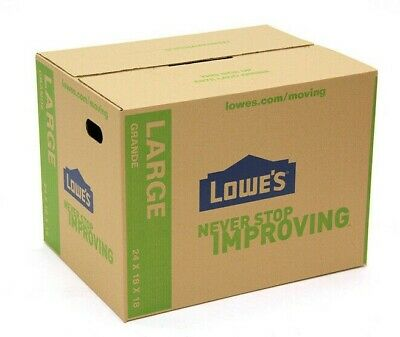 """Large Cardboard Boxes 24"""" X 18"""" Storage Moving Shipping Packing Mail Pack Of 5"""