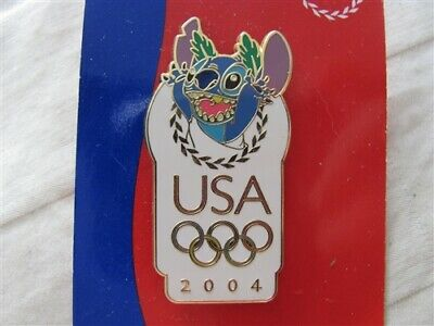 Disney Trading Pins 30897 USA Olympic Logo - Stitch