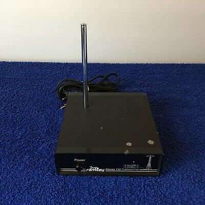 Ramsey Stereo FM transmitter with Antenna FM10