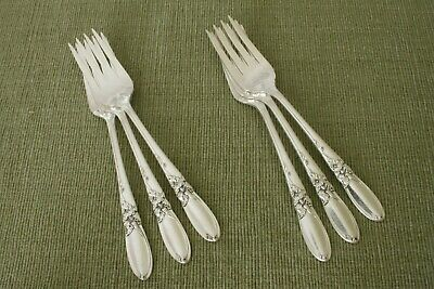 Oneida Community 1953 Silverplate WHITE ORCHID Salad Fork