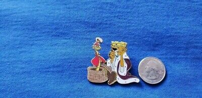 DISNEY Pin Robin Hood Medieval Magic Prince John Lion Sir Hiss Snake LE 1000
