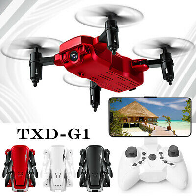 Drone RC Mini TXD G1con 2MP Telecamera WIFI 4-Axis Quadcopter Ritorno Foldable