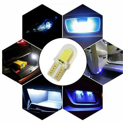 10X LED T10 W5W 8SMD 6500K CANBUS Silica Bright White License Best Light Bu I9Z9