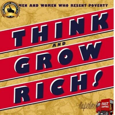 New Edition Complete Paperback Think And Grow Rich Who Resent Poverty Unabridged