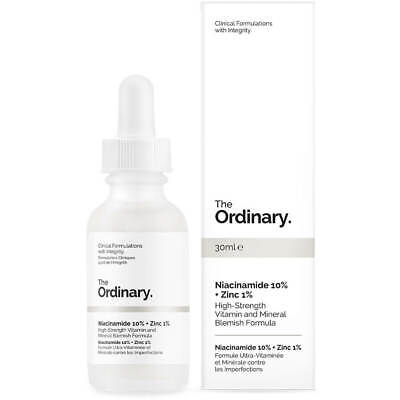 The Ordinary Niacinamide 10% + Zinc 1% High Strength Vitamin And Mineral 30ml