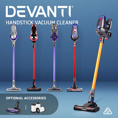 Devanti Handheld Vacuum Cleaner Cordless Stick Handstick Bagless Car Vac 5 Model