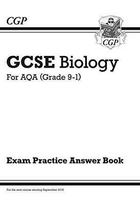GCSE Biology: AQA Answers for Exam Practice Workbook - Higher by CGP Books Paper