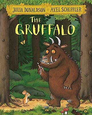 The Gruffalo by Julia Donaldson and Axel Scheffler Paperback NEW Book