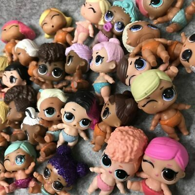 10pcs LOL Surprise Doll LiL Sister Baby Doll Girl's Gift Toy Send At Random