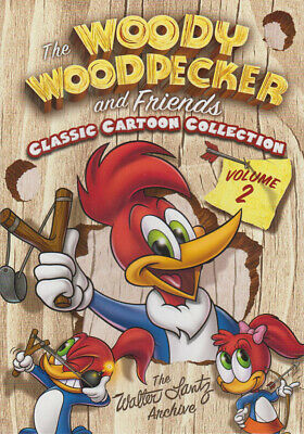 The Woody Woodpecker And Friends Classic Cartoon Collection - Volume 2 (Bo (Dvd)