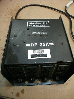 American DJ DP-20A 4 Channel DMX Power Pack | Made in USA+