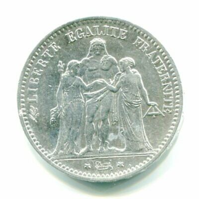 France Hercule 5  Francs, Annee 1875  A  Argent  Silver Coin