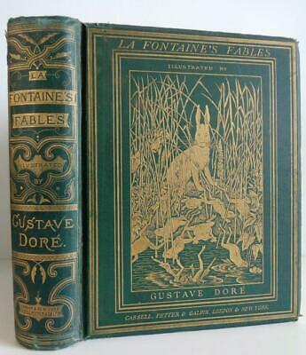 c.1870 FABLES OF LA FONTAINE Illustrated GUSTAVE DORE Translated