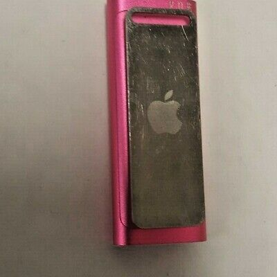 Apple Ipod 3Rd Generation Pink Model #A1271 No Charging Cable
