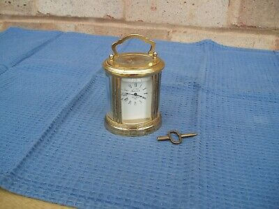 French Miniture Carriage Clock L Epee