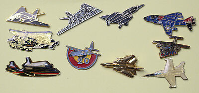 pins-transport_militaria_militaires_avions_10 pins_hélicopters_aviation_vliegtui
