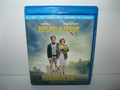 Seeking a Friend for the End of the World bluray movie