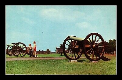 Dr Jim Stamps Us Cannon Cornfield Avenue Antietam Battlefield Postcard