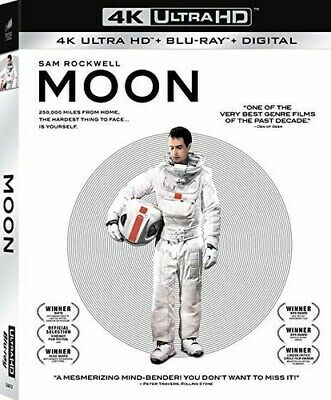 Moon [New 4K Ultra HD] With Blu-Ray, Widescreen, 2 Pack, Ac-3/Dolby Digital, D