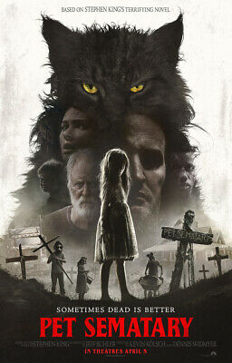 PET SEMATARY (New Sealed,2019,Dvd,Release) THE DEAD SHALL RETURN,Ships Free...