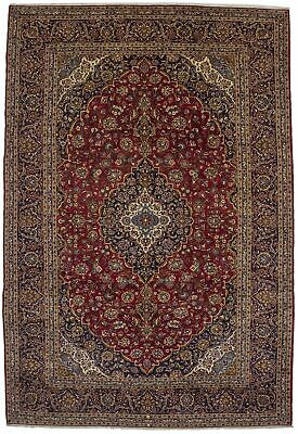 Traditional Style Vintage Red 10X15 Extra Large Wool Rug Oriental Décor Carpet