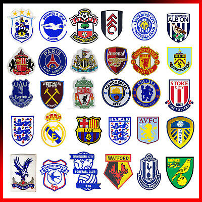 Premier League European Football Clubs Logo Sports Embroidered Iron Sew On Patch